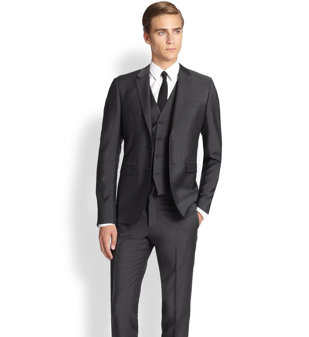 traje de hombre negro 2018 - Trajes para Homrbe 5ce50fa0e9ac