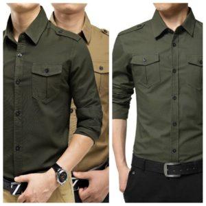 d02cf0a8e13af ▷+30 Camisas para HOMBRE de Vestir Entalladas ® MODA 2018 - 2019