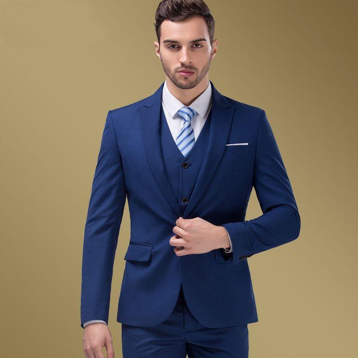 ᐅ Cómo Combinar TRAJES para Hombre ® Azul Marino 897cef8aab5